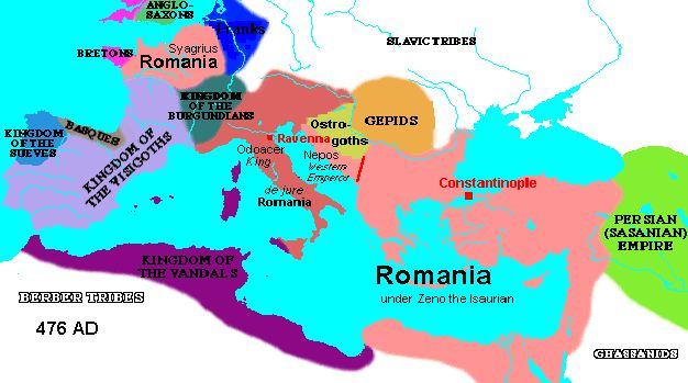 an analysis of the changes in in europe that started with the fall of rome Start studying chapter 9 ap world history- civilization in eastern europe: where did the burden of maintaining the empire fall.