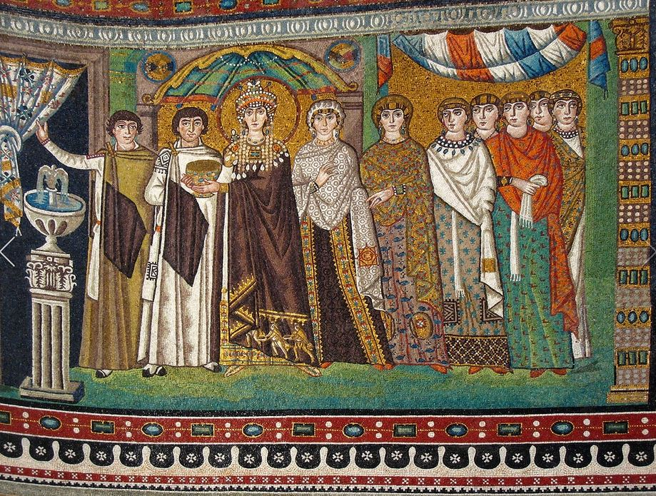 an introduction to the history of mosaics of san vitale